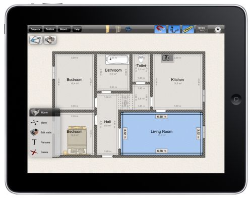 Livecad logiciel d 39 architecture 3d for Home design apps for ipad